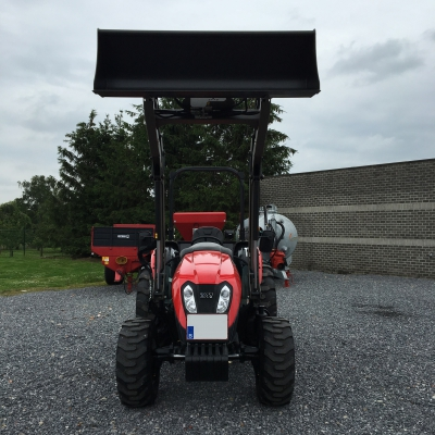 Tym tractor + MX frontlader