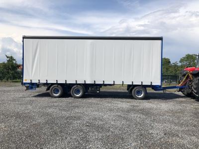 Record huifwagen PLW 10/3 30 ton